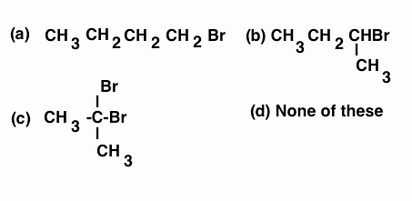 The chief reaction product of reaction between n-butane