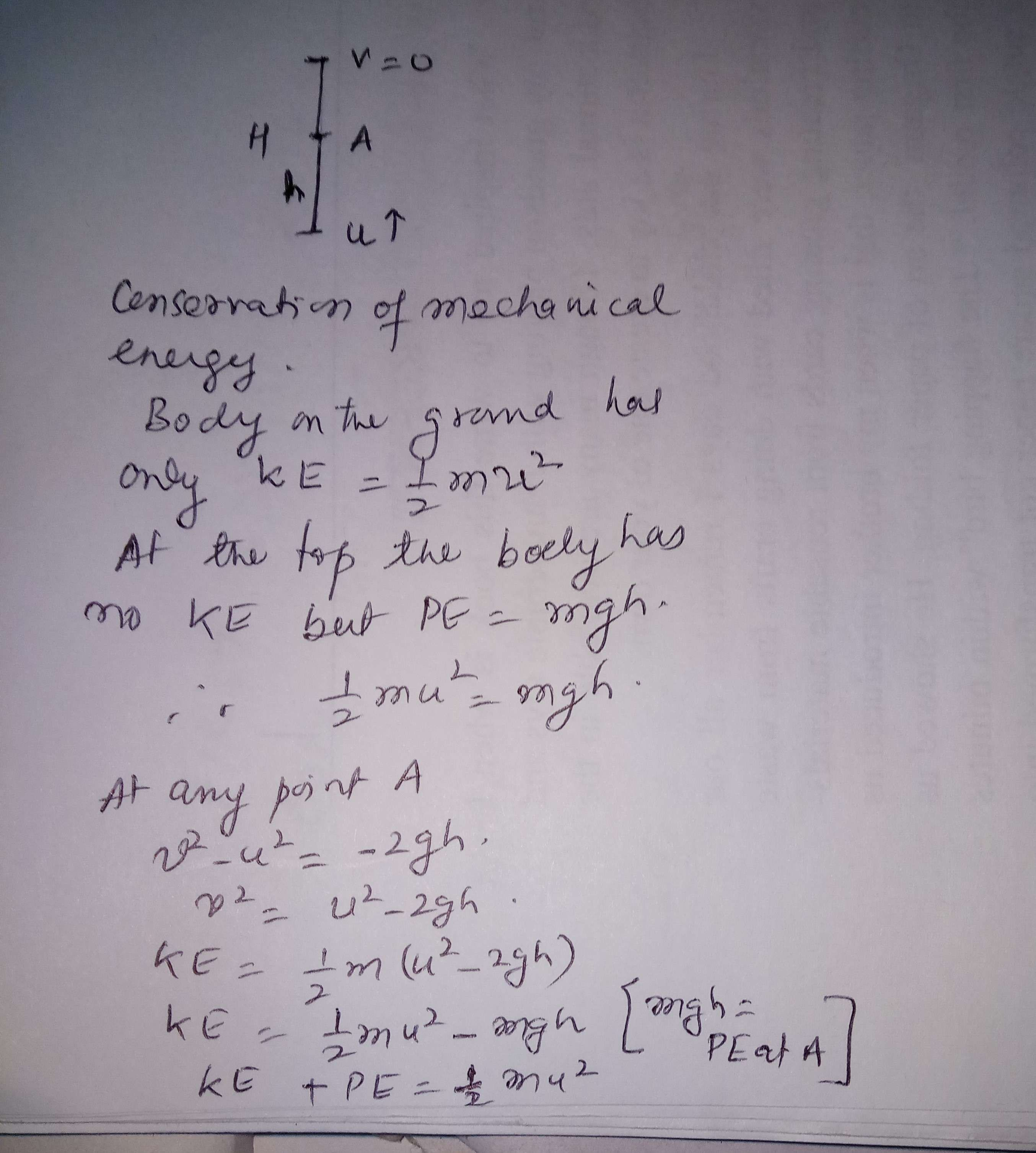 what is the law of conservation of mechanical energy