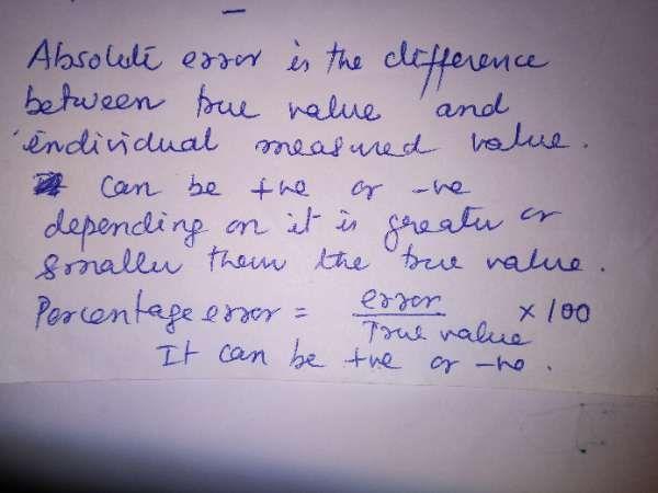Can A Gravitational Acceleration Percentage Error Be A Negative