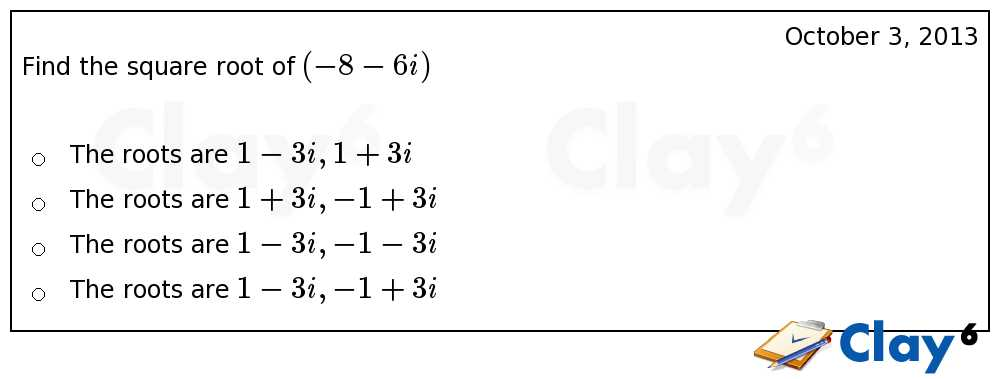 http://clay6.com/qa/10292/find-the-square-root-of-8-6i-