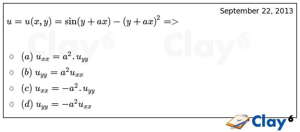 http://clay6.com/qa/13598/u-u-x-y-sin-y-ax-y-ax-2-