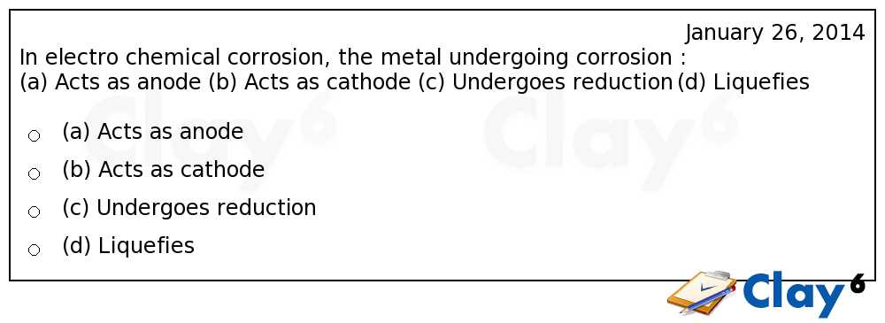 http://clay6.com/qa/13774/in-electro-chemical-corrosion-the-metal-undergoing-corrosion-