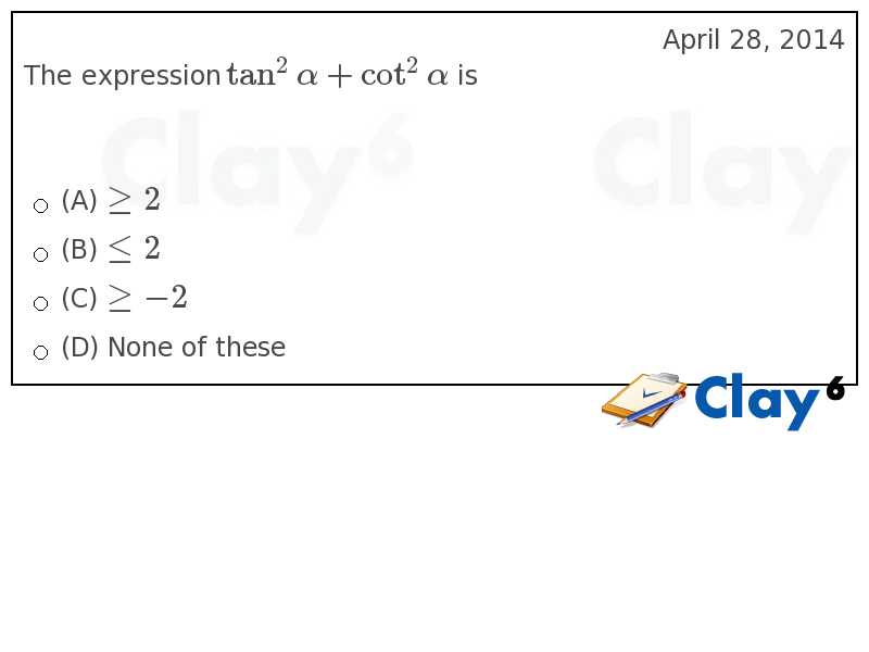 http://clay6.com/qa/14446/the-expression-tan-2-alpha-cot-2-alpha-is