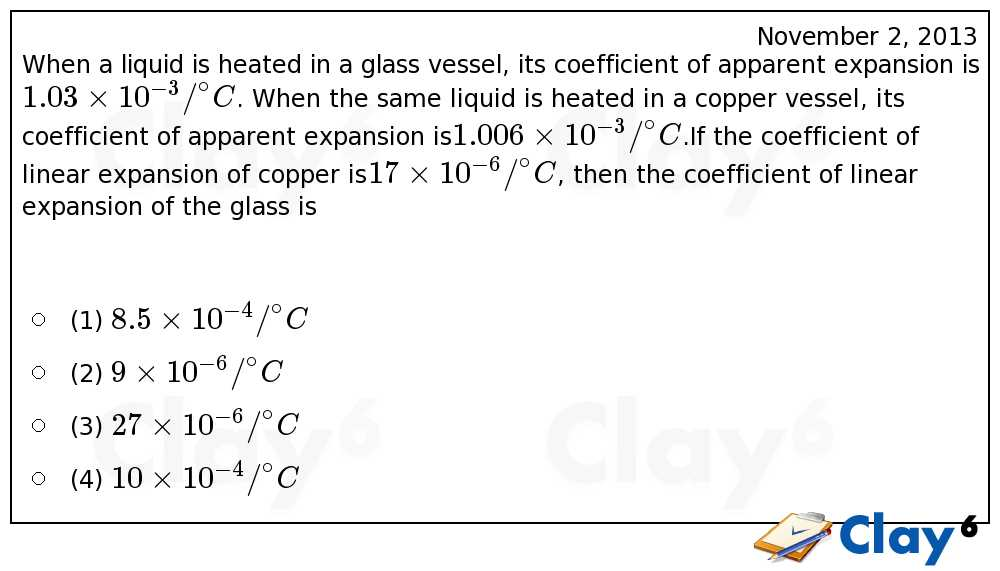 http://clay6.com/qa/14551/when-a-liquid-is-heated-in-a-glass-vessel-its-coefficient-of-apparent-expan