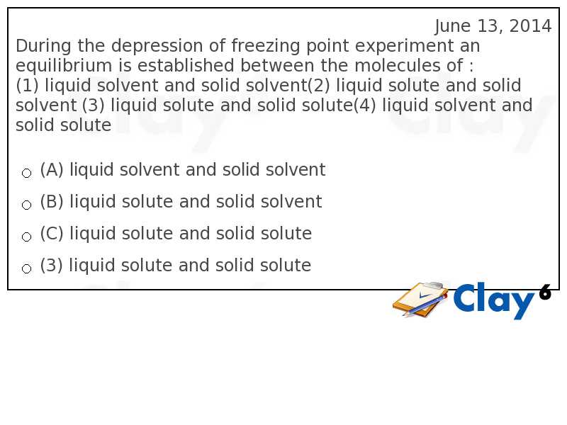 http://clay6.com/qa/14784/during-the-depression-of-freezing-point-experiment-an-equilibrium-is-establ