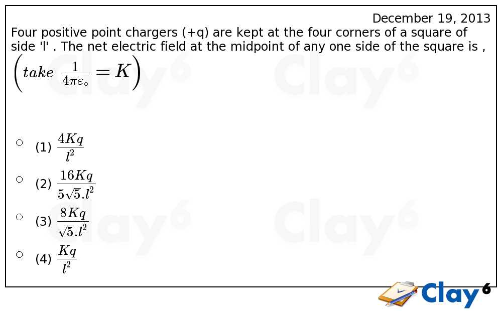 http://clay6.com/qa/15900/four-positive-point-chargers-q-are-kept-at-the-four-corners-of-a-square-of-