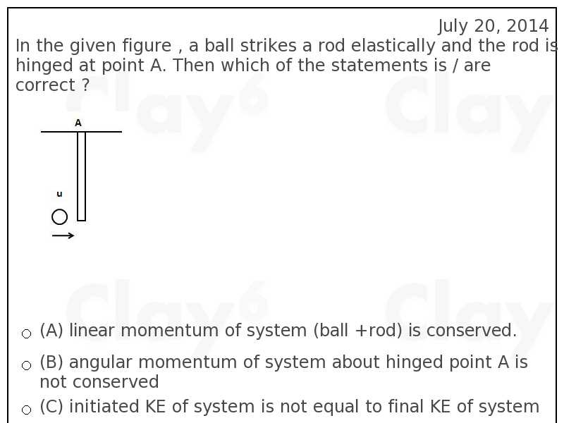 http://clay6.com/qa/19174/in-the-given-figure-a-ball-strikes-a-rod-elastically-and-the-rod-is-hinged-