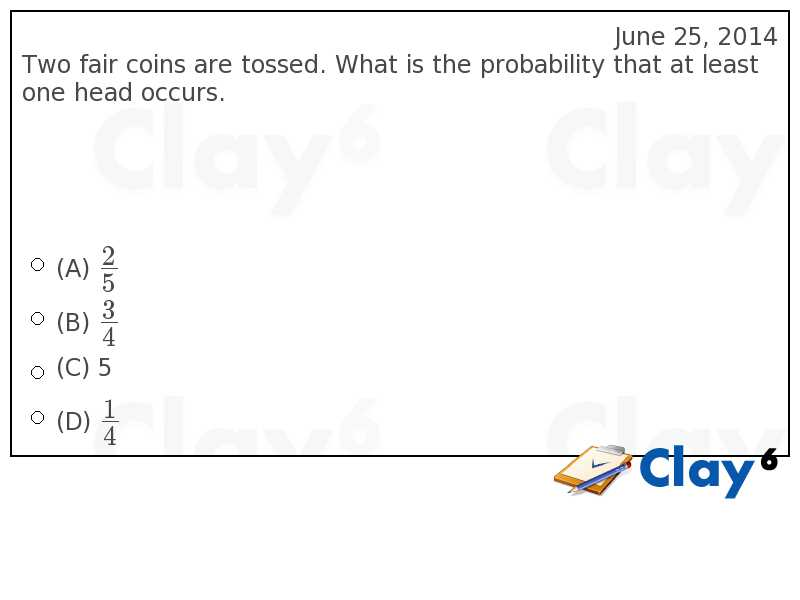 http://clay6.com/qa/21754/two-fair-coins-are-tossed-what-is-the-probability-that-at-least-one-head-oc