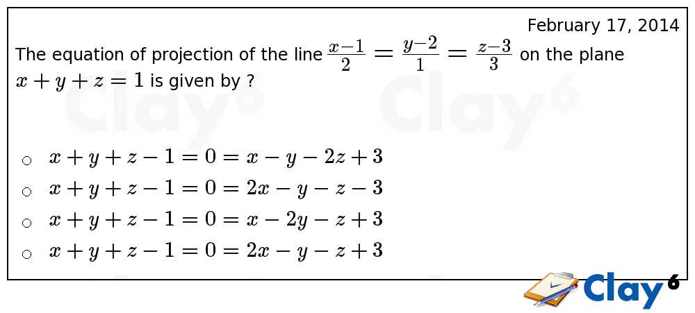 http://clay6.com/qa/23462/the-equation-of-projection-of-the-line-large-frac-frac-frac-on-the-plane-x-