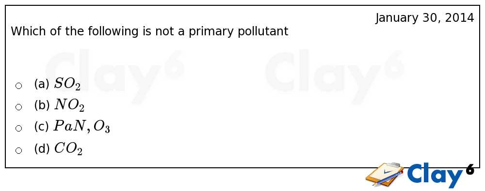 http://clay6.com/qa/24435/which-of-the-following-is-not-a-primary-pollutant
