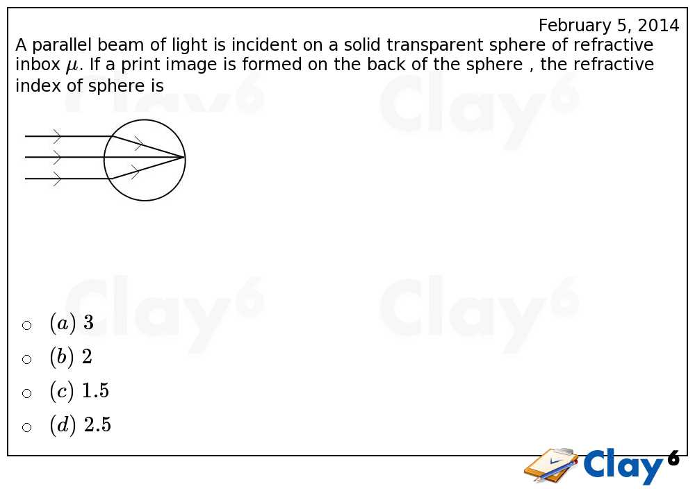 http://clay6.com/qa/24712/a-parallel-beam-of-light-is-incident-on-a-solid-transparent-sphere-of-refra