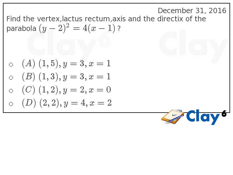 http://clay6.com/qa/26973/find-the-vertex-lactus-rectum-axis-and-the-directix-of-the-parabola-y-2-2-4