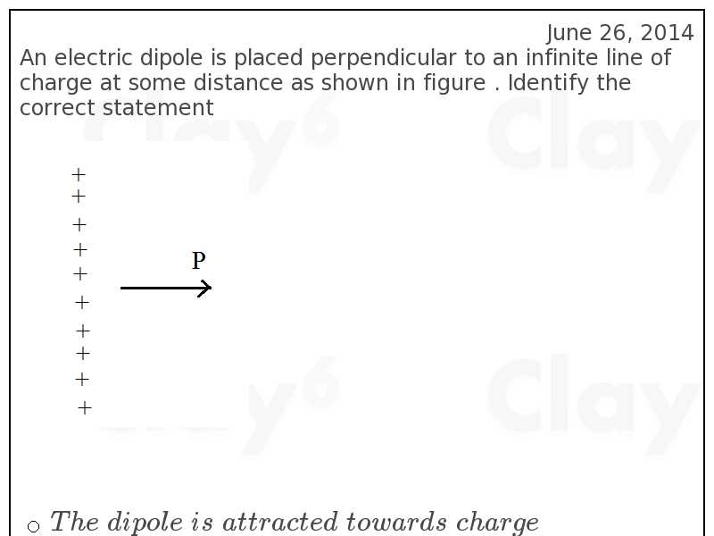 http://clay6.com/qa/27168/an-electric-dipole-is-placed-perpendicular-to-an-infinite-line-of-charge-at