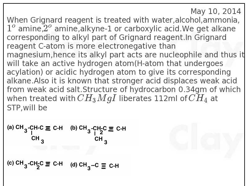 http://clay6.com/qa/32537/when-grignard-reagent-is-treated-with-water-alcohol-ammonia-1-o-amine-2-o-a