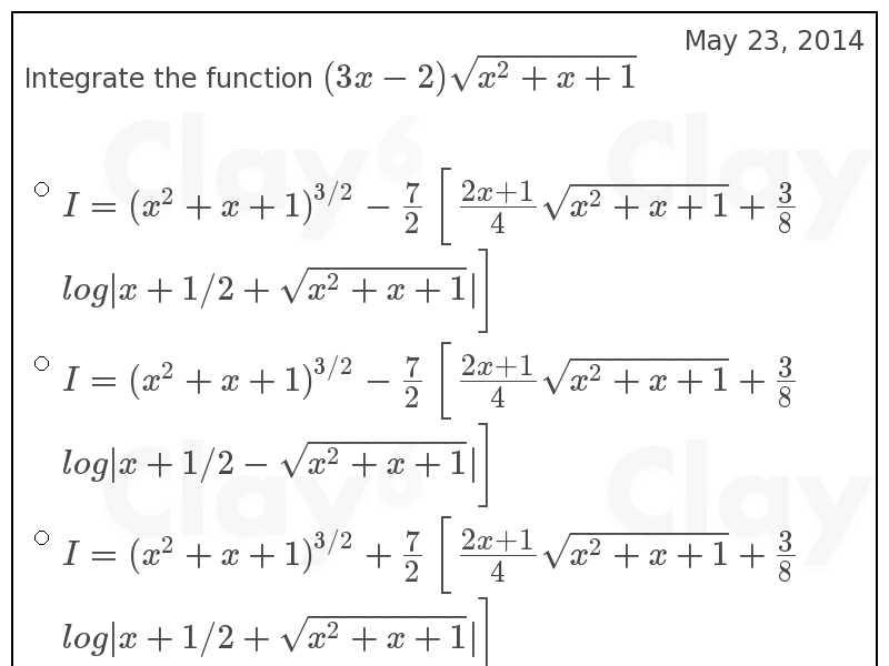 http://clay6.com/qa/33379/integrate-the-function-3x-2-sqrt