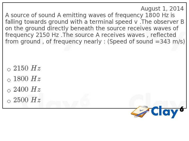 http://clay6.com/qa/40719/a-source-of-sound-a-emitting-waves-of-frequency-1800-hz-is-falling-towards-