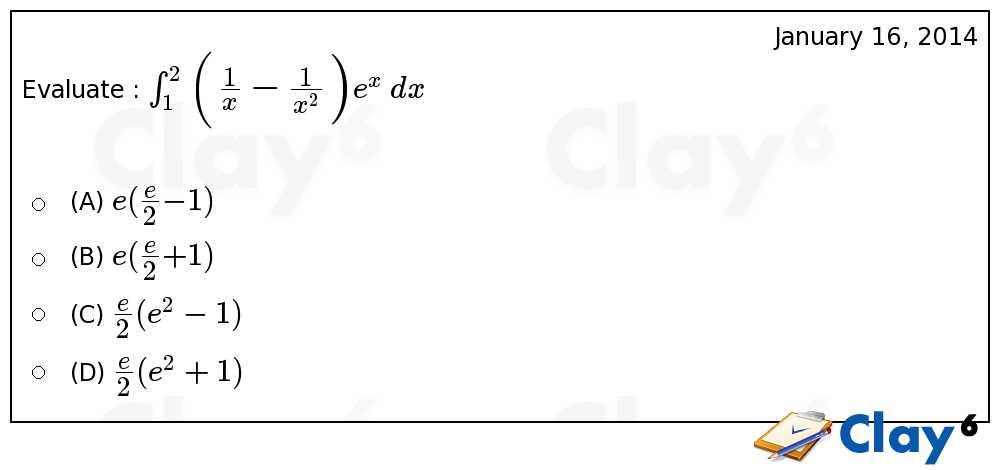 http://clay6.com/qa/4715/evaluate-int-1-2-bigg-large-frac-frac-bigg-e-x-dx