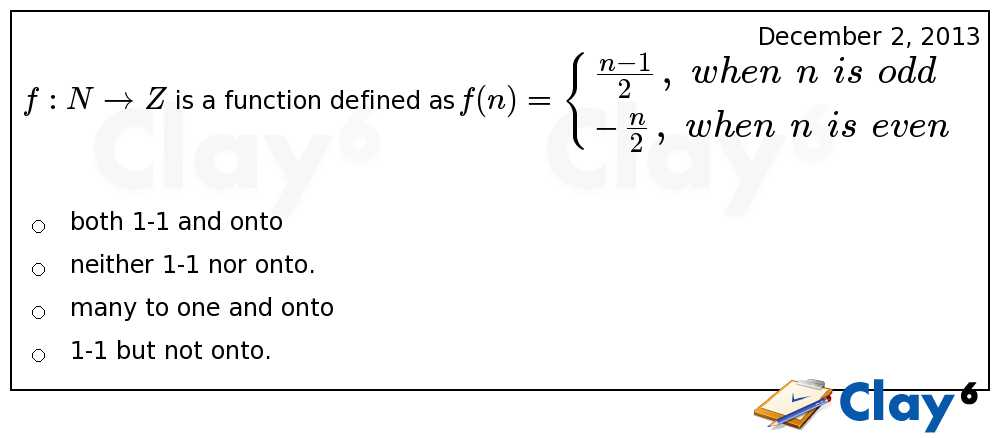 http://clay6.com/qa/9445/-f-n-rightarrow-z-is-a-function-defined-as-f-n-left-large-frac-when-n-is-od